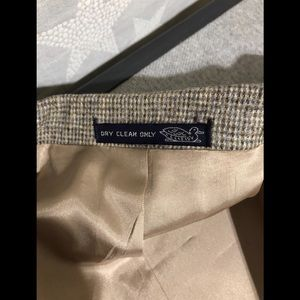 Union Made Suits & Blazers - Union Made Light Brown Houndstooth 3 Piece Siut